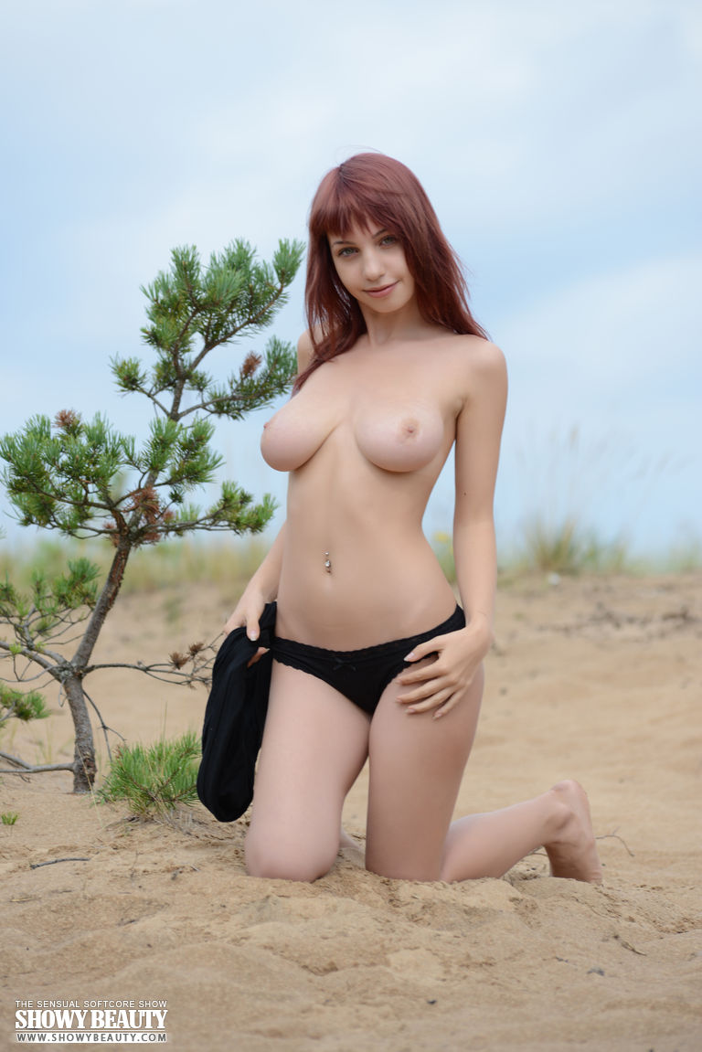The Free redhead undress