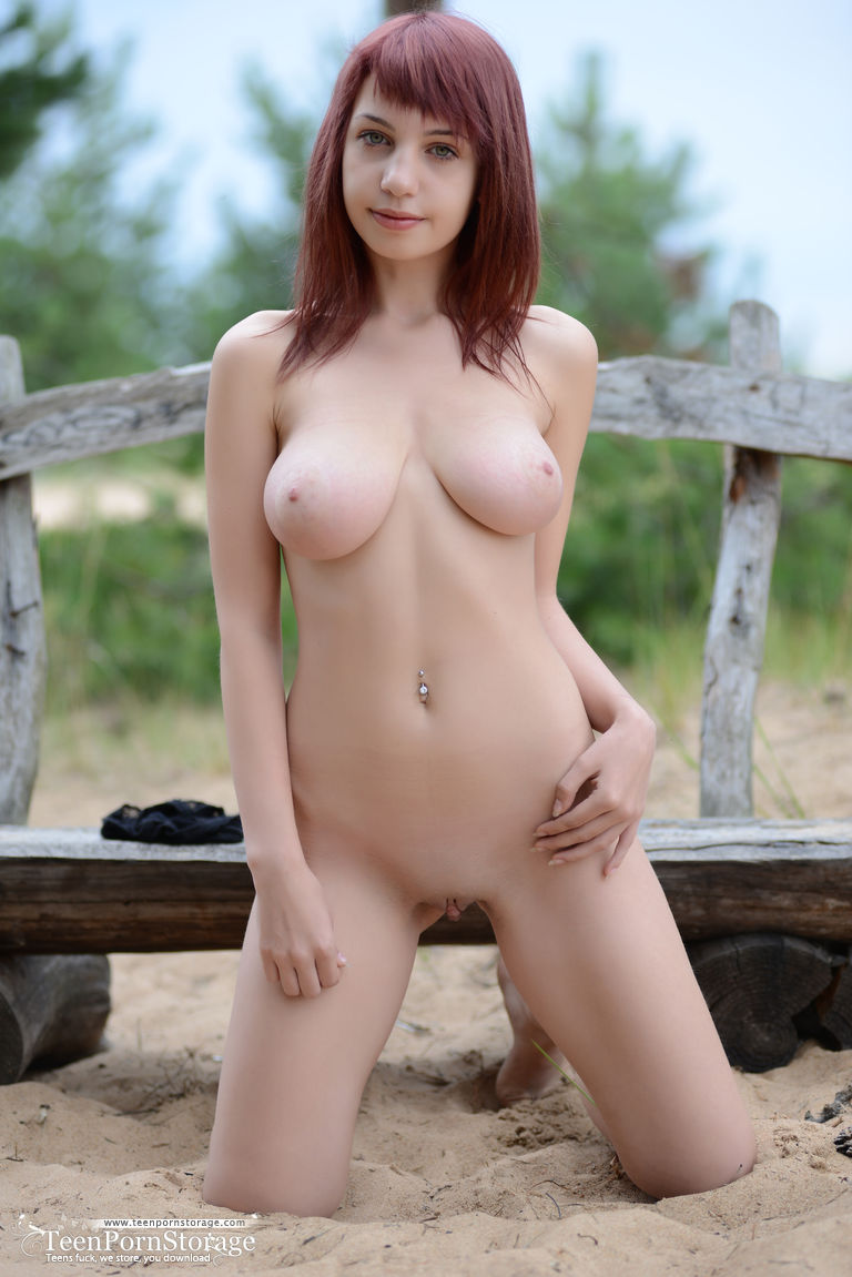 Teen beautiful big boobs natural